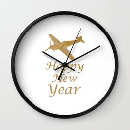Happy New Year!! Enjoy 2015 Holidaze Wall Clock