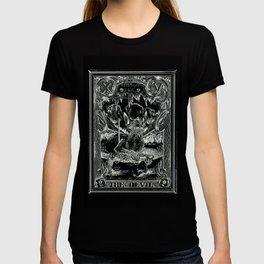THE DEVIL of Tarot Cats T-shirt