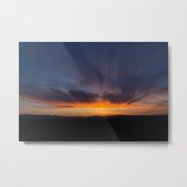 Painting The Sky Metal Print