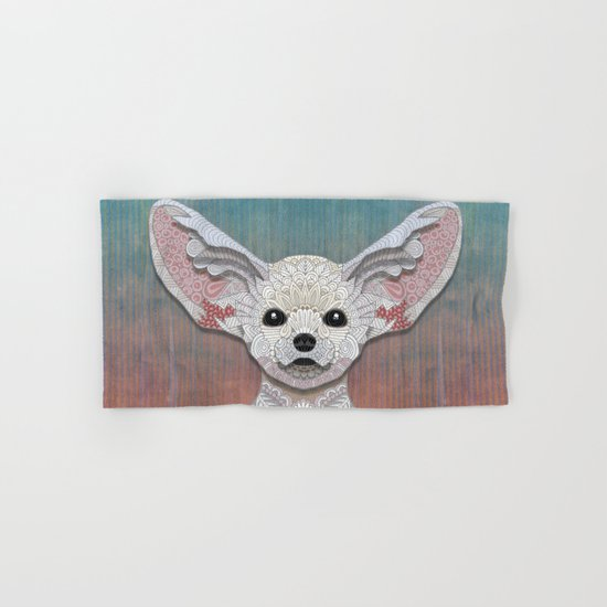 Fennec Fox Hand & Bath Towel