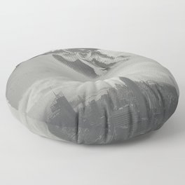 Invisible Cities Floor Pillow
