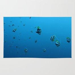 Fish Fall Rug