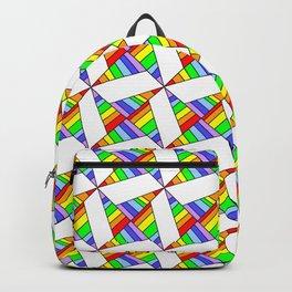 optical pattern 25 Backpack