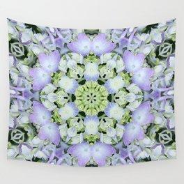 Hydrangea Kaleidoscope Wall Tapestry