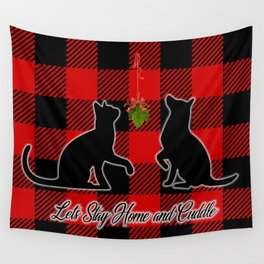 Christmas Cuddles Wall Tapestry