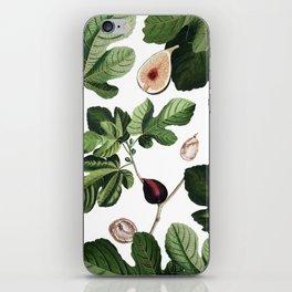 Figs White iPhone Skin