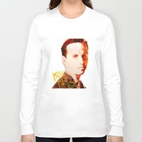 moriarty Long Sleeve T-shirts featuring Miss me? - Jim Moriarty by Pash Arts