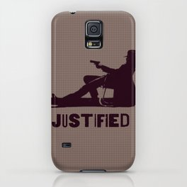 Justified ||| iPhone Case