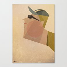 Armstrong Canvas Print