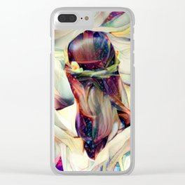 In the Arms of an Angel Clear iPhone Case
