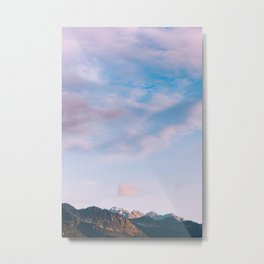 Little Mountain, Big Sky II Metal Print