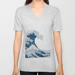 The Great Wave Unisex V-Neck