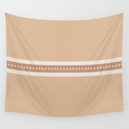 Ribbon Rust Wall Tapestry
