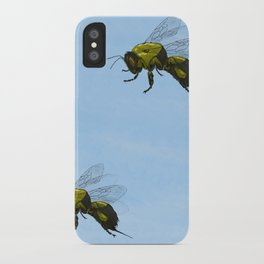 Flight of the Bumblebees iPhone Case