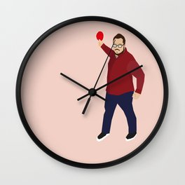 The Smasher Wall Clock