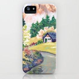 Spring Alpine iPhone Case