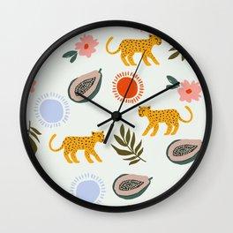 Made By Jens Pattern Wall Clock