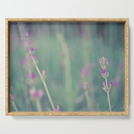 Lavender - Floral Photography #Society6 Serving Tray