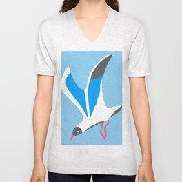 A seagull Unisex V-Neck