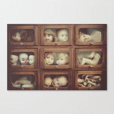 Doll Parts Canvas Print
