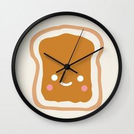 peanut butter sandwich Wall Clock
