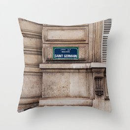 Saint Germain II Throw Pillow