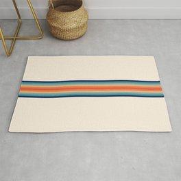 Retro 70s Vintage Summer Style Stripes - Conima Rug