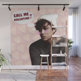 Call Me Valentine - Kai Wall Mural