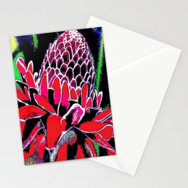 Ageing of Flower Stationery Cards