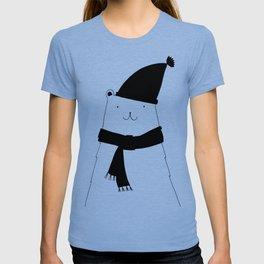 Scandinavian style bear art T-shirt
