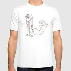 Part of Your World (Disney The Little Mermaid) White MEDIUM Mens Fitted Tee