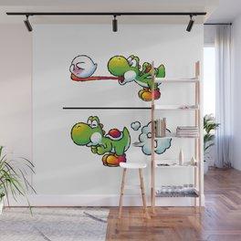 Farting Yoshi Wall Mural