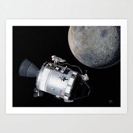Falling to Earth Art Print