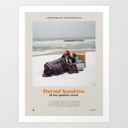 Eternal Sunshine of the Spotless Mind (2004) Minimalist Poster Art Print