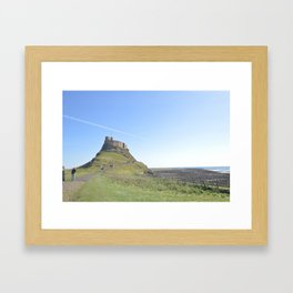The Holy Island Framed Art Print