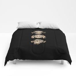 3 wise monkeys Comforters
