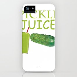 Dill Pickle Juice  Product iPhone Case
