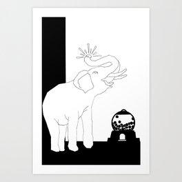 THE RAPTURE Art Print