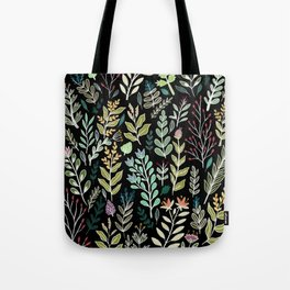 Dark Botanic Tote Bag