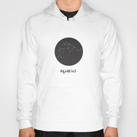 aquarius Hoodies featuring Aquarius by snaticky