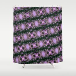 Aguirre Glitch Shower Curtain