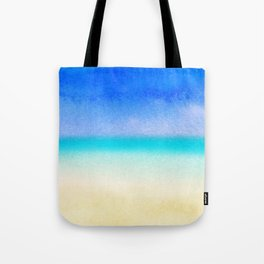 Tropical Sea #1 Tote Bag
