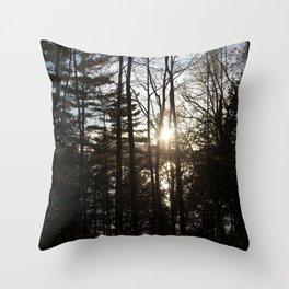 between Throw Pillow