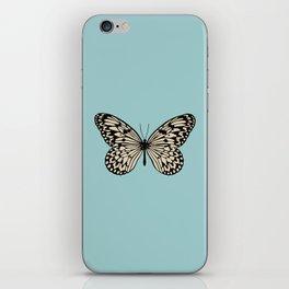 Paper Kite Moth (Idea Leuconoe) iPhone Skin