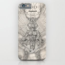 Archangel Raguel iPhone Case