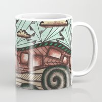 earth Mugs featuring Earth by sinonelineman