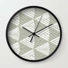 Cross Wound Thread Wall Clock