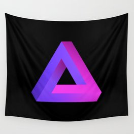 Penrose Triangle Wall Tapestry