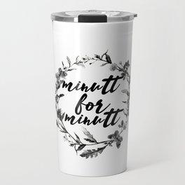 minutt for minutt floreal Travel Mug