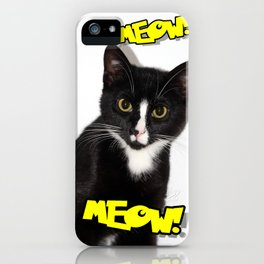 Meow! iPhone Case